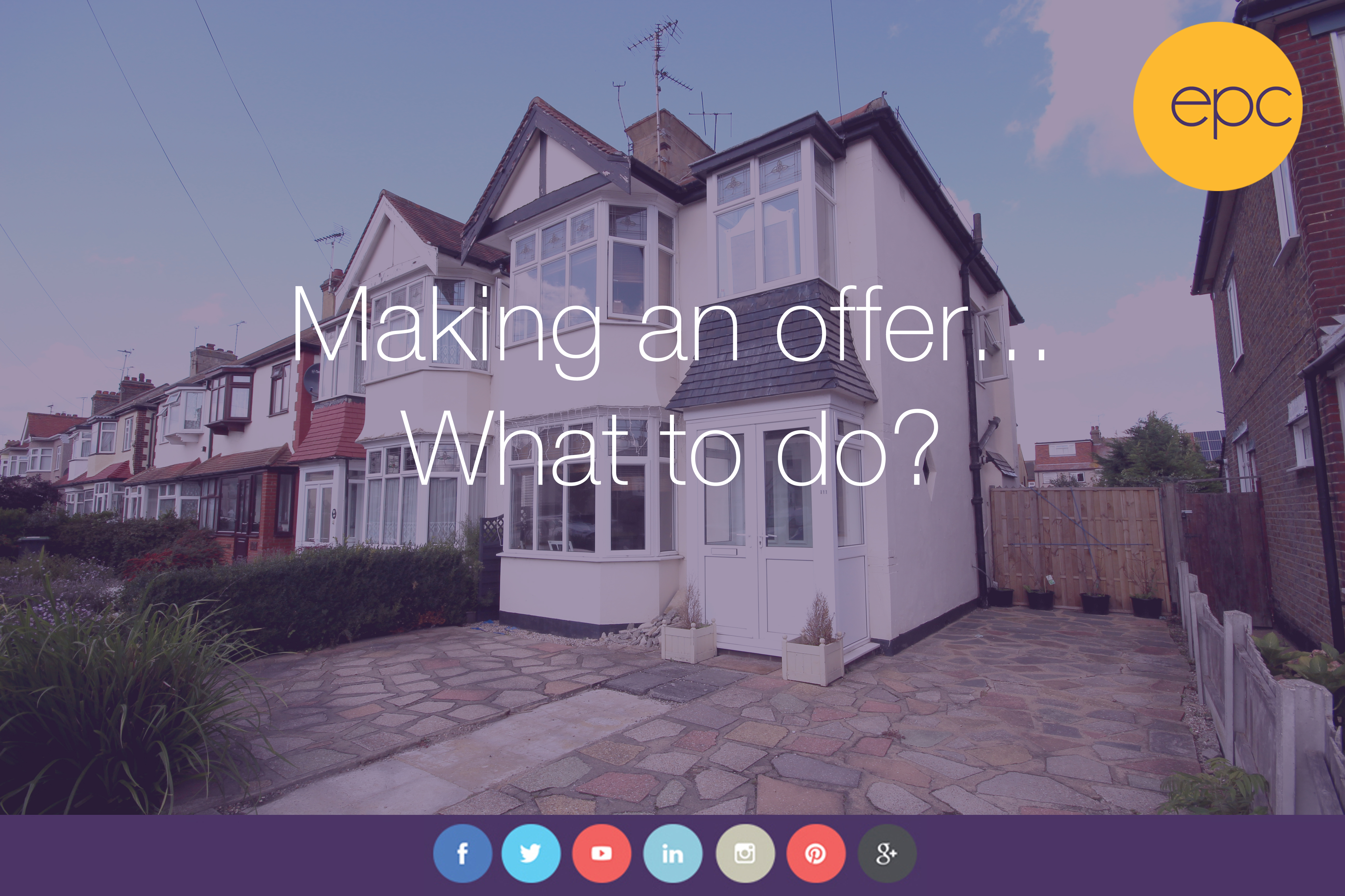 Making an Offer...What to do?
